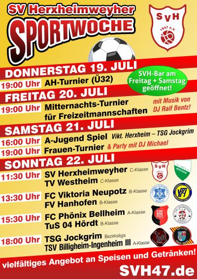 Sportwoche Flyer